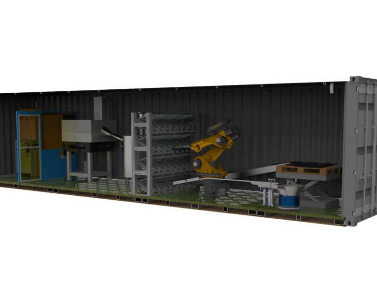 Our Modular Automated Roof Tile Factory